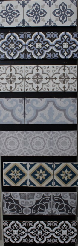 Multiple Shades of Tiles